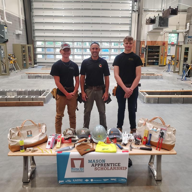 SCTHS Students Receive Masonry Apprentice Scholarships Featured Photo