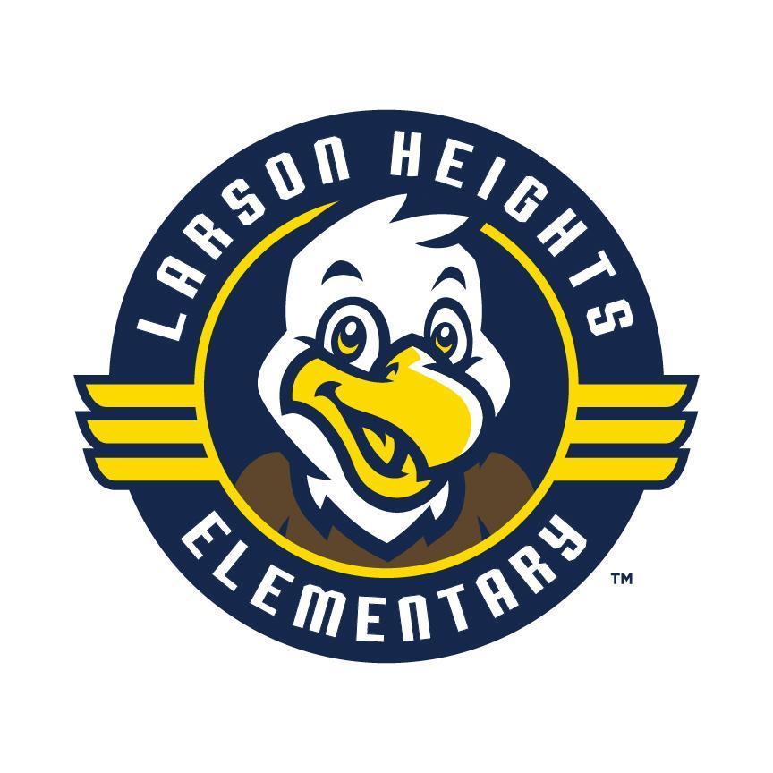 Larson Heights Logo (Cartoon Eagle)