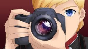 Child with camera