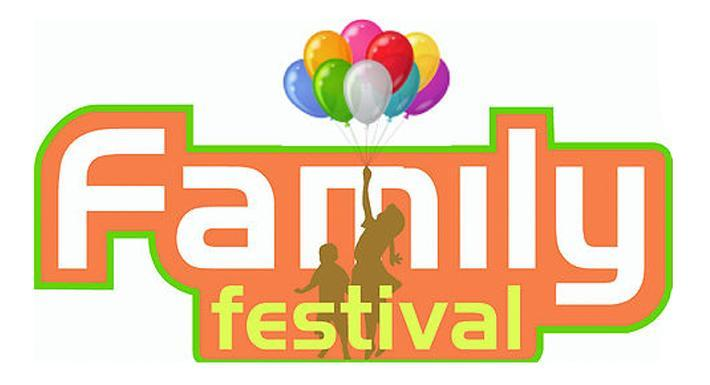 Word Art Text that reads Family Festival