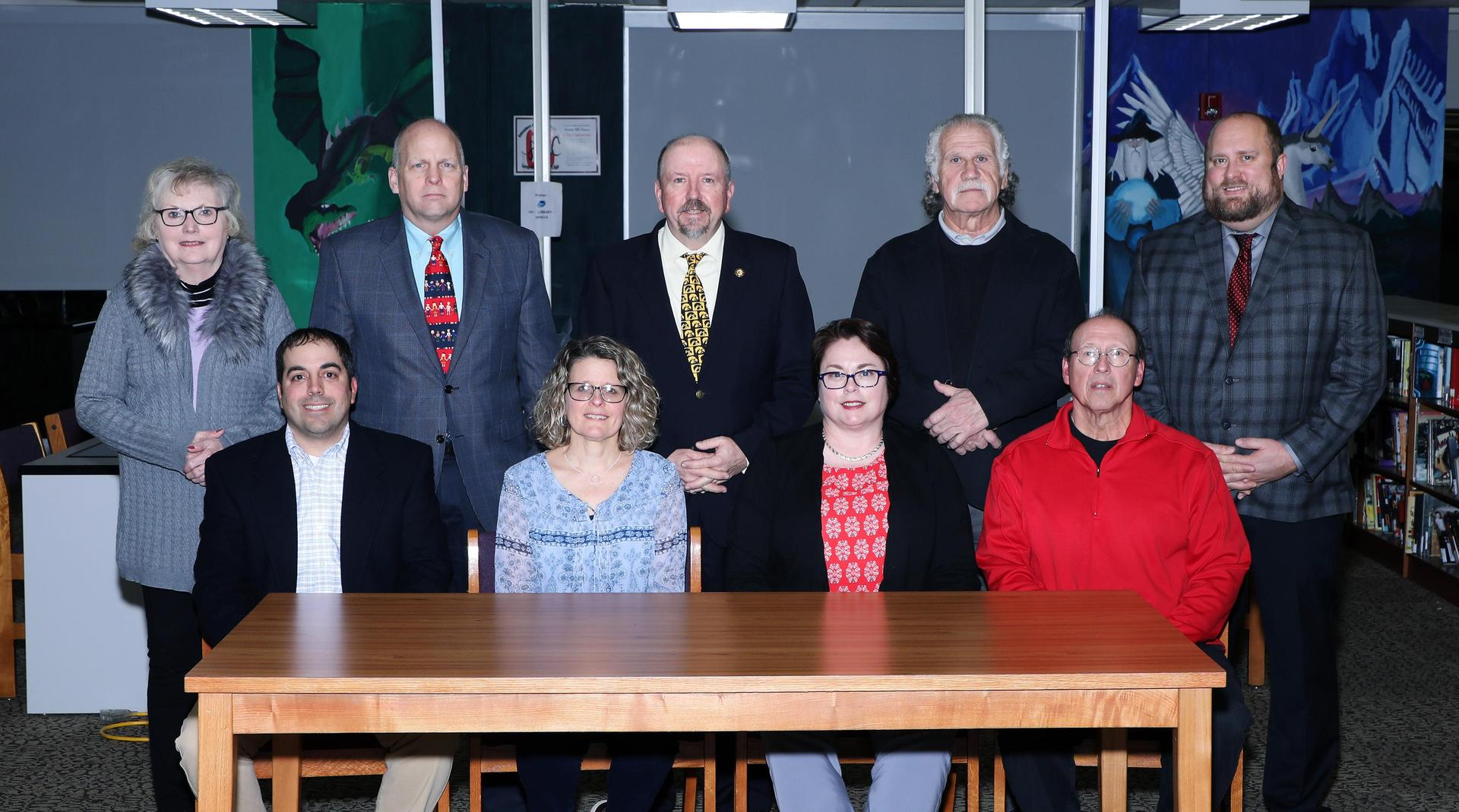 Central Cambria School Board Members