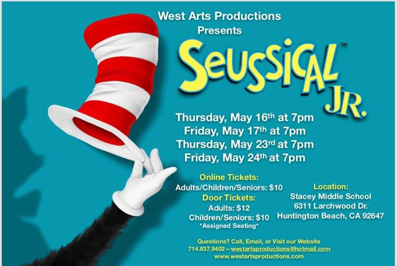 West Arts Seussical the Musical Jr