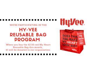 HyVee Red Bag
