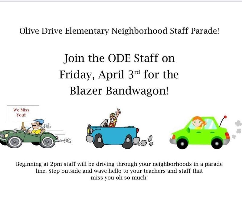 ODE Staff Car Parade Tomorrow Thumbnail Image