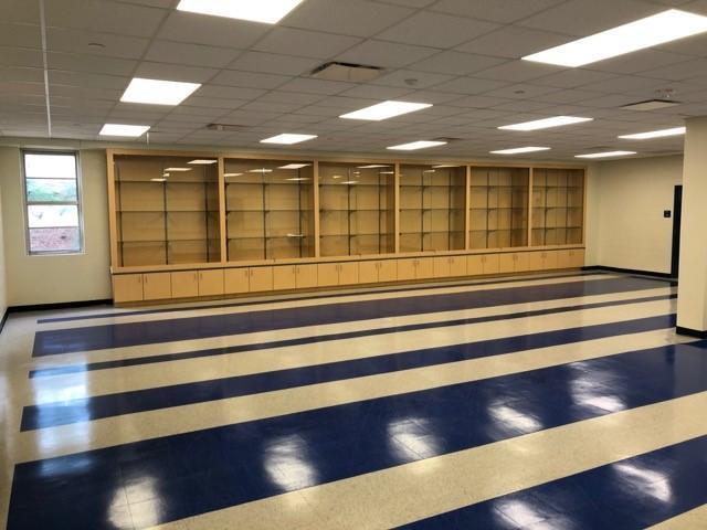 New Airport High School JROTC Classroom & Training Area