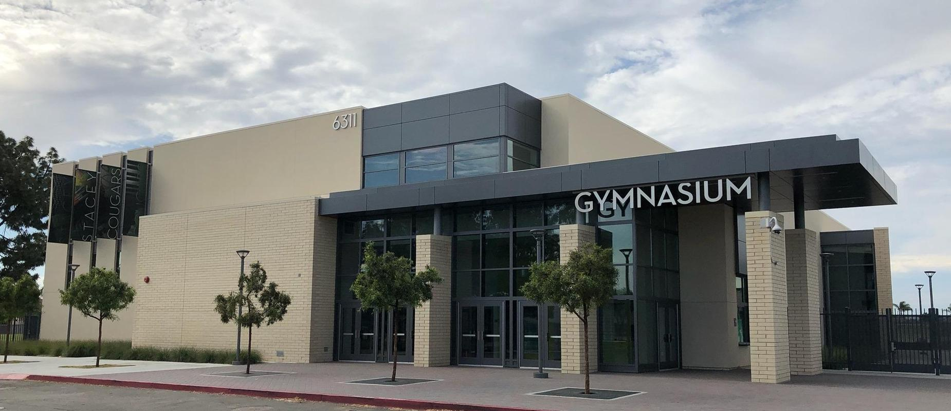 Our new gymnasium