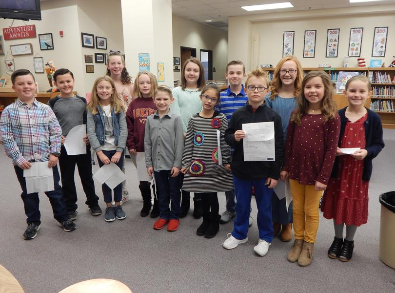 4th Grade Student Council Candidates