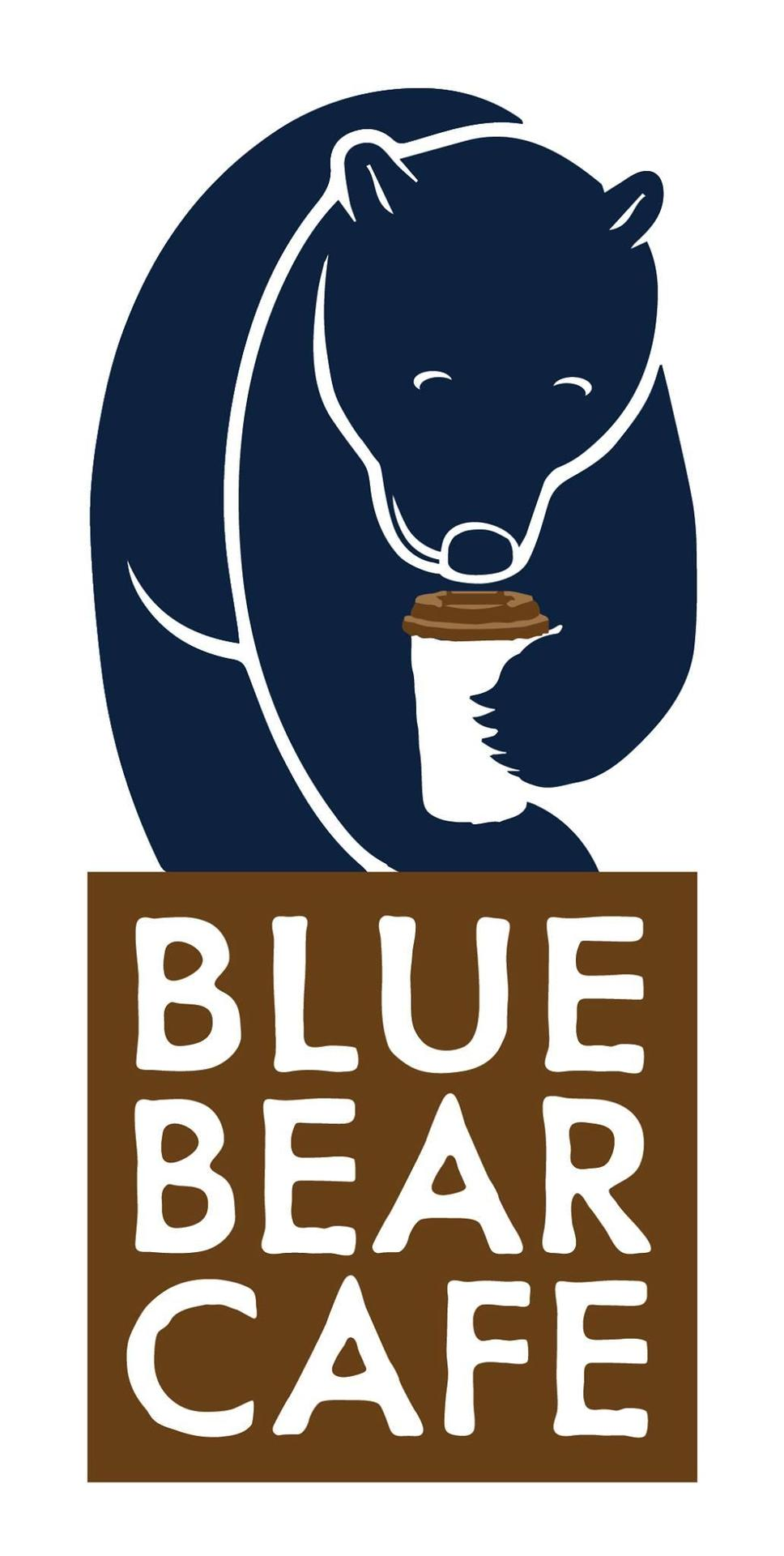 Blue Bear Cafe logo