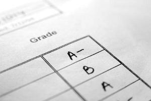 Report Card Grades
