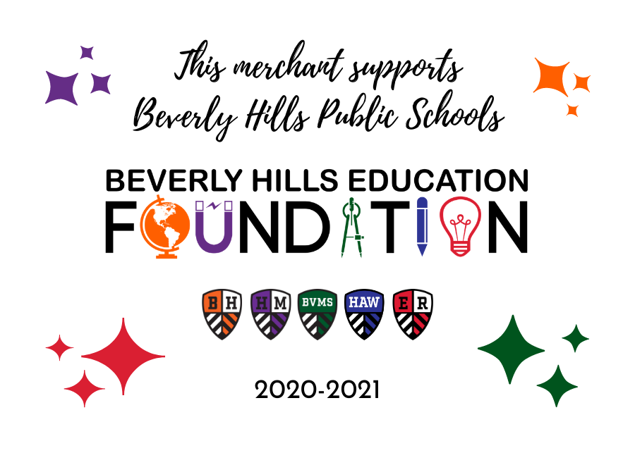 This merchange supports Beverly Hills Public Schools
