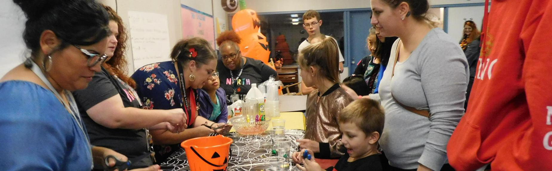 Family Fun Night with STEM (Science, Technology, Engineering, and Math)