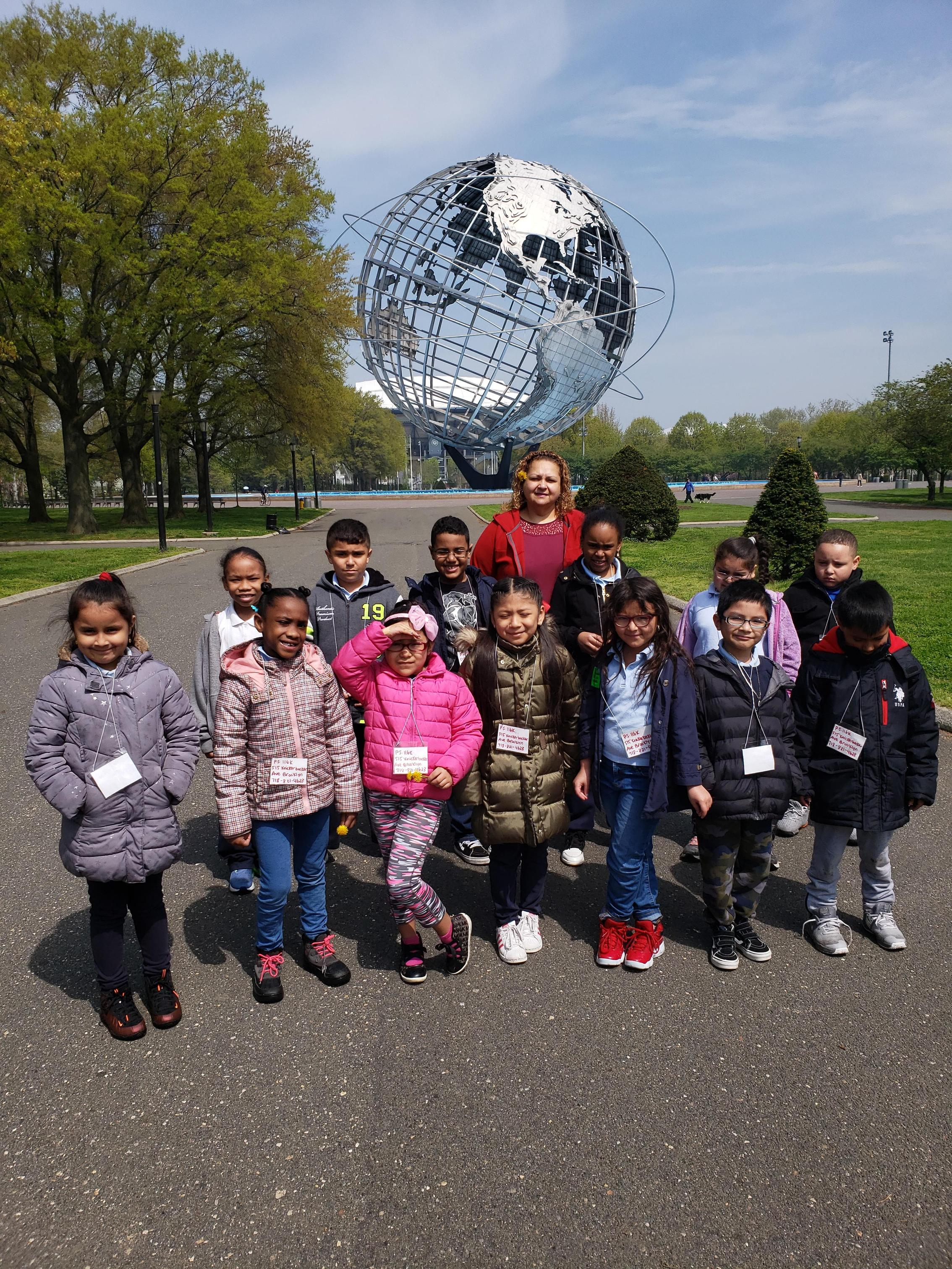 3rd Grade Students at the Park.