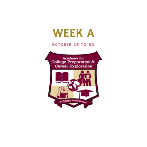 Week A - October 26