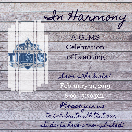 GTMS Expo February 21 from 6:00PM to 7:30PM