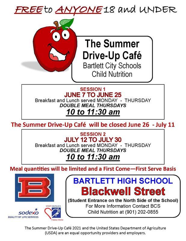 BCS - Summer Cafe - Student Parking Lot