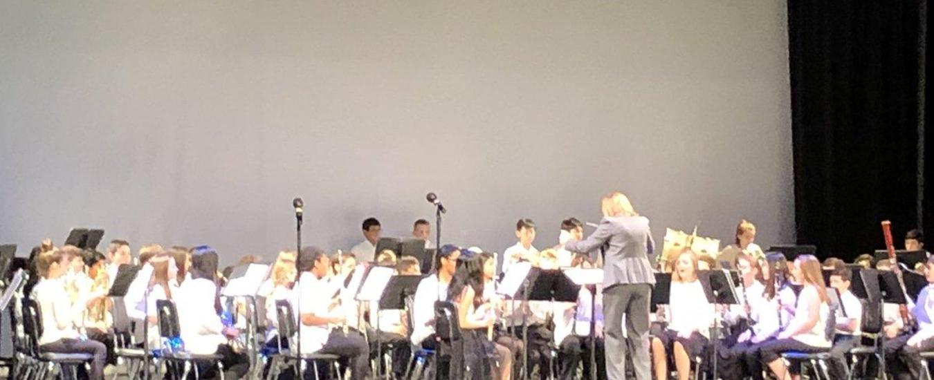 Band Winter Concert.