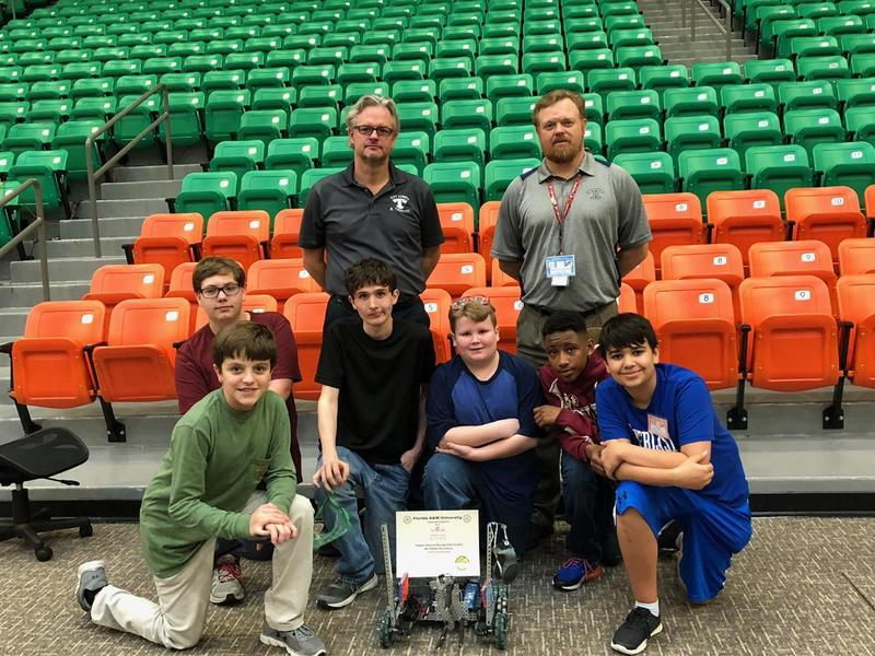 NEMS Vex Robotics Team Headed to State Championships! Featured Photo