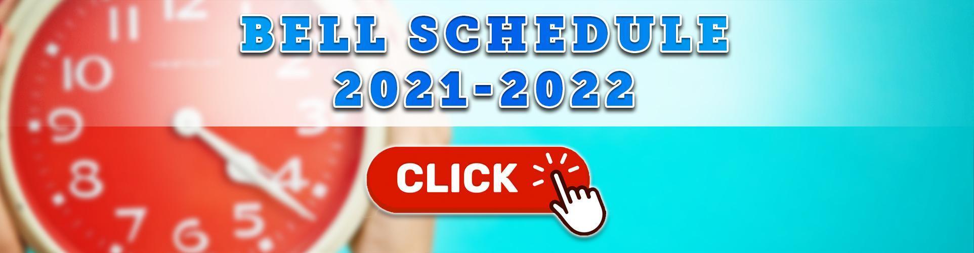 Bell Schedule (2021-2022)