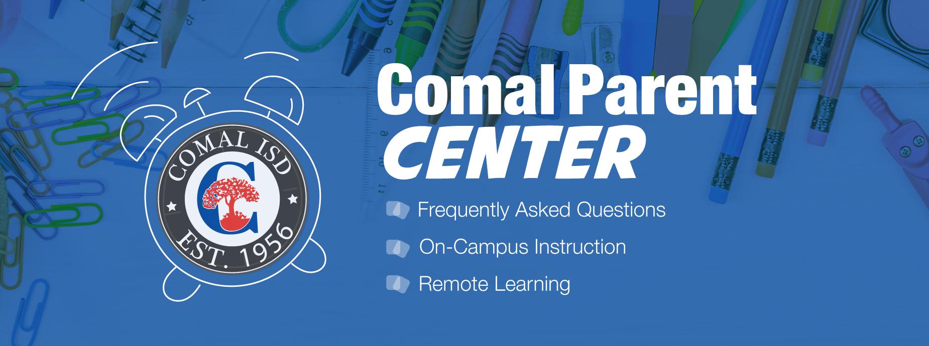 Comal Parent Center Banner