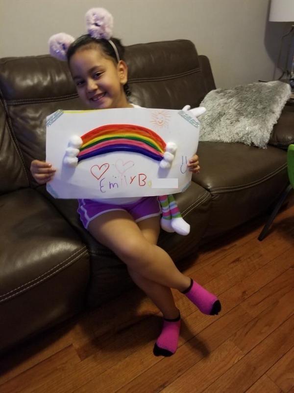 Emily B. rainbow