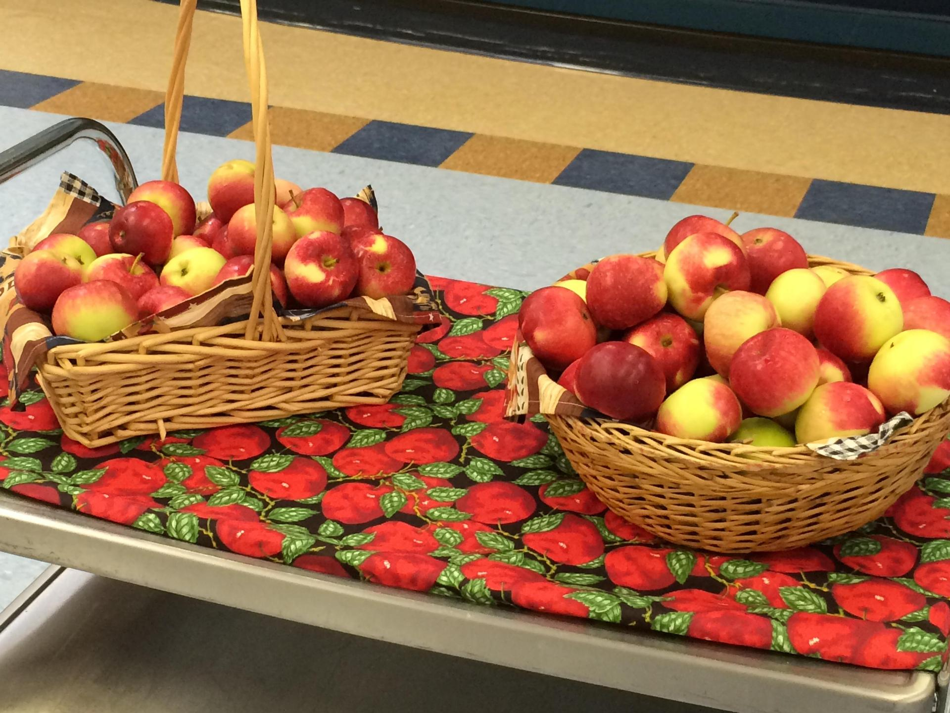 Apples from Hillside orchards