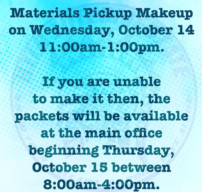 Makeup Materials Packet Pickup Featured Photo