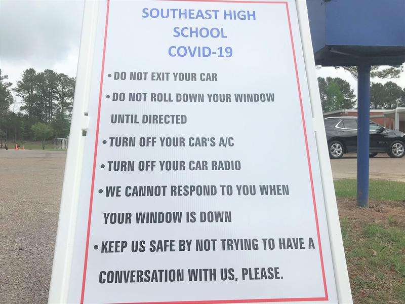 Southeast High School Packet Pickup Line Instructions
