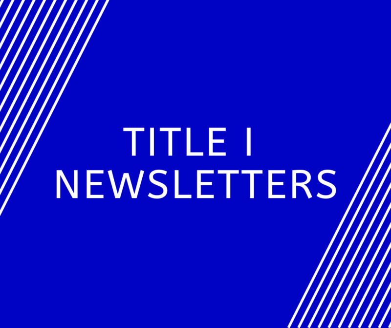 Title I Newsletters Featured Photo