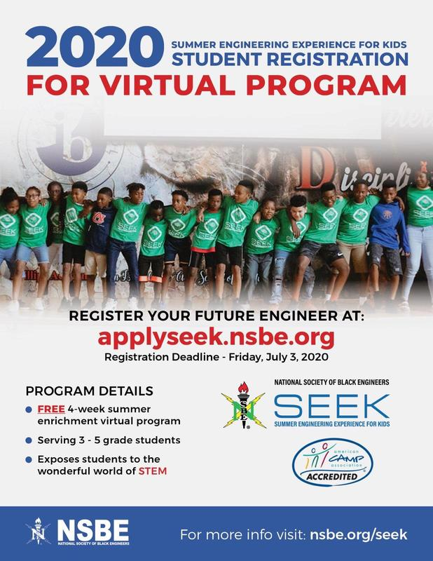 Summer Engineering Experience for Kids Registration Thumbnail Image