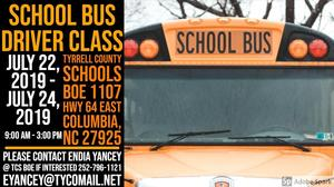 School Bus Driver Flyer