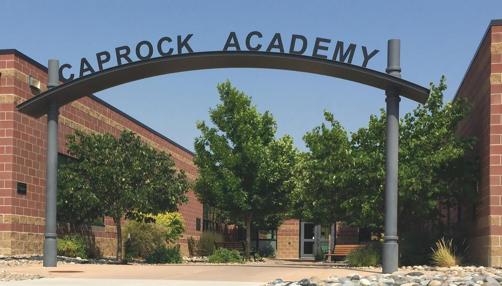 Caprock Academy front entrance