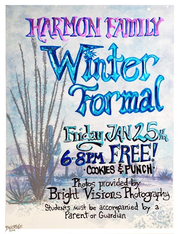 Winter Formal Flyer