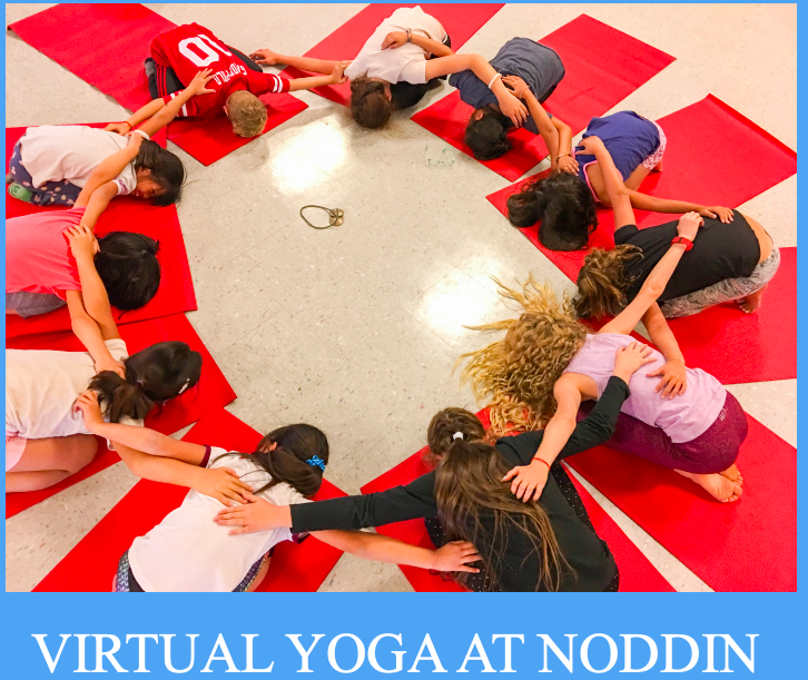 Virtual Yoga at Noddin Logo