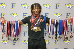 Garland signs to UT track and field