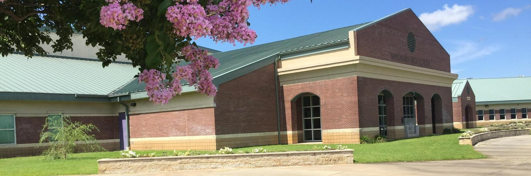 front of mhs building