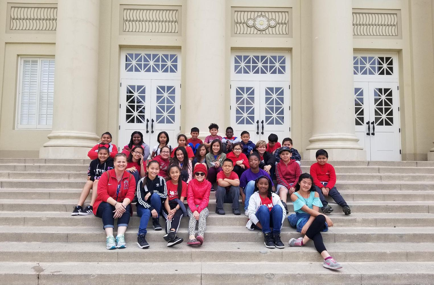 6th grade trip to Sacramento