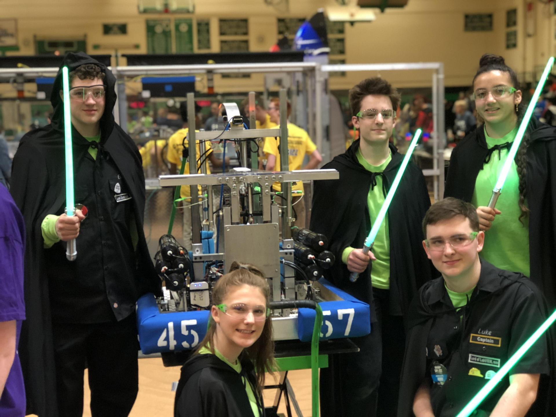 Robotics always does well in Waterbury competition.