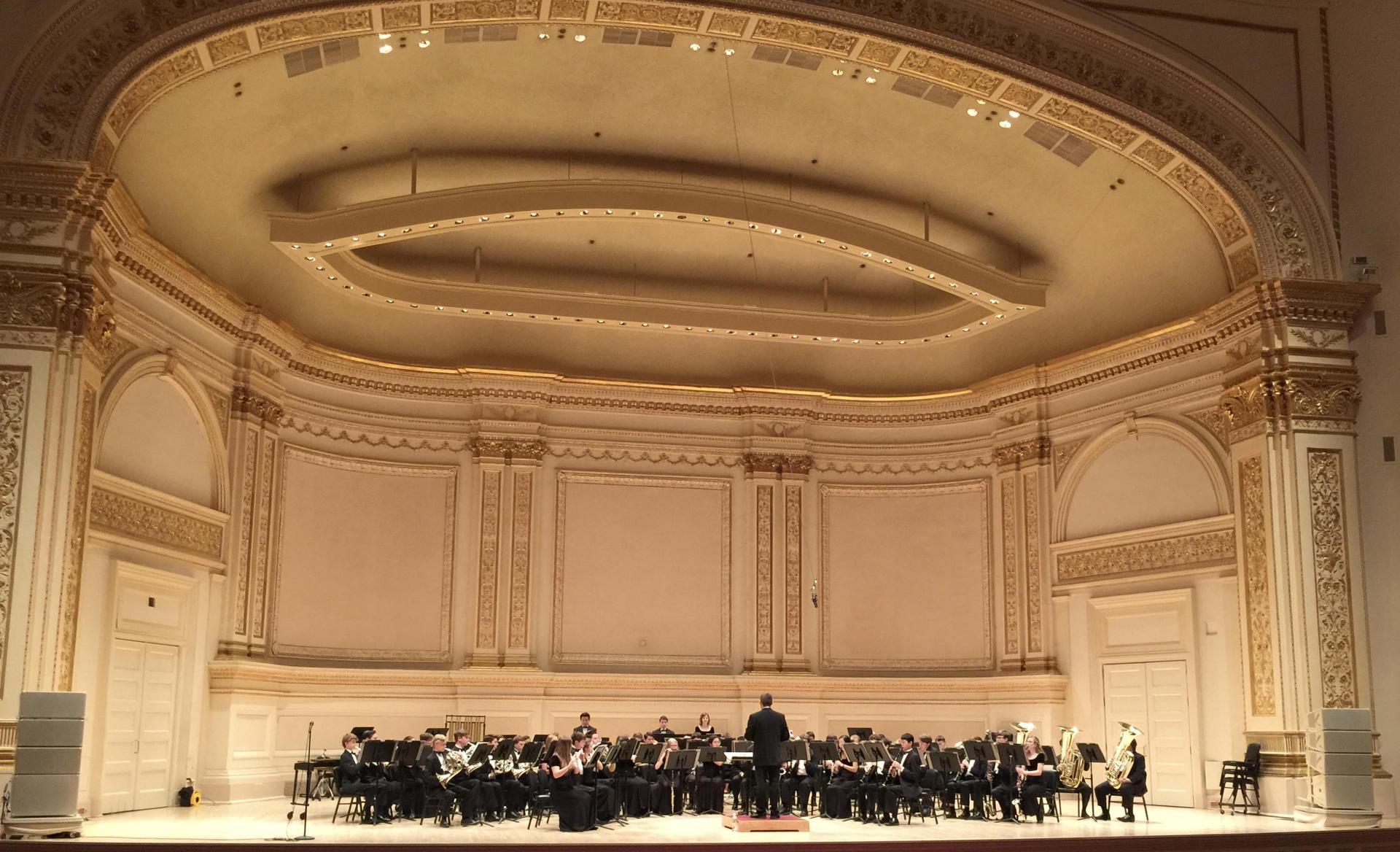 Lovejoy Band, Carnegie Hall