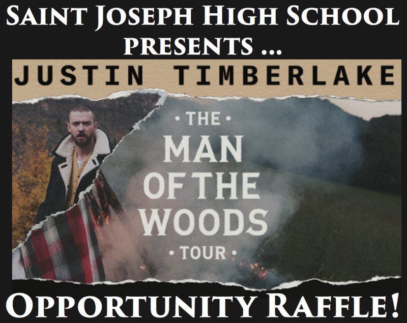 Just one week left to purchase JT Concert Raffle Tickets! Thumbnail Image