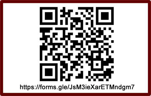 Use this QR code to reserve your time slot