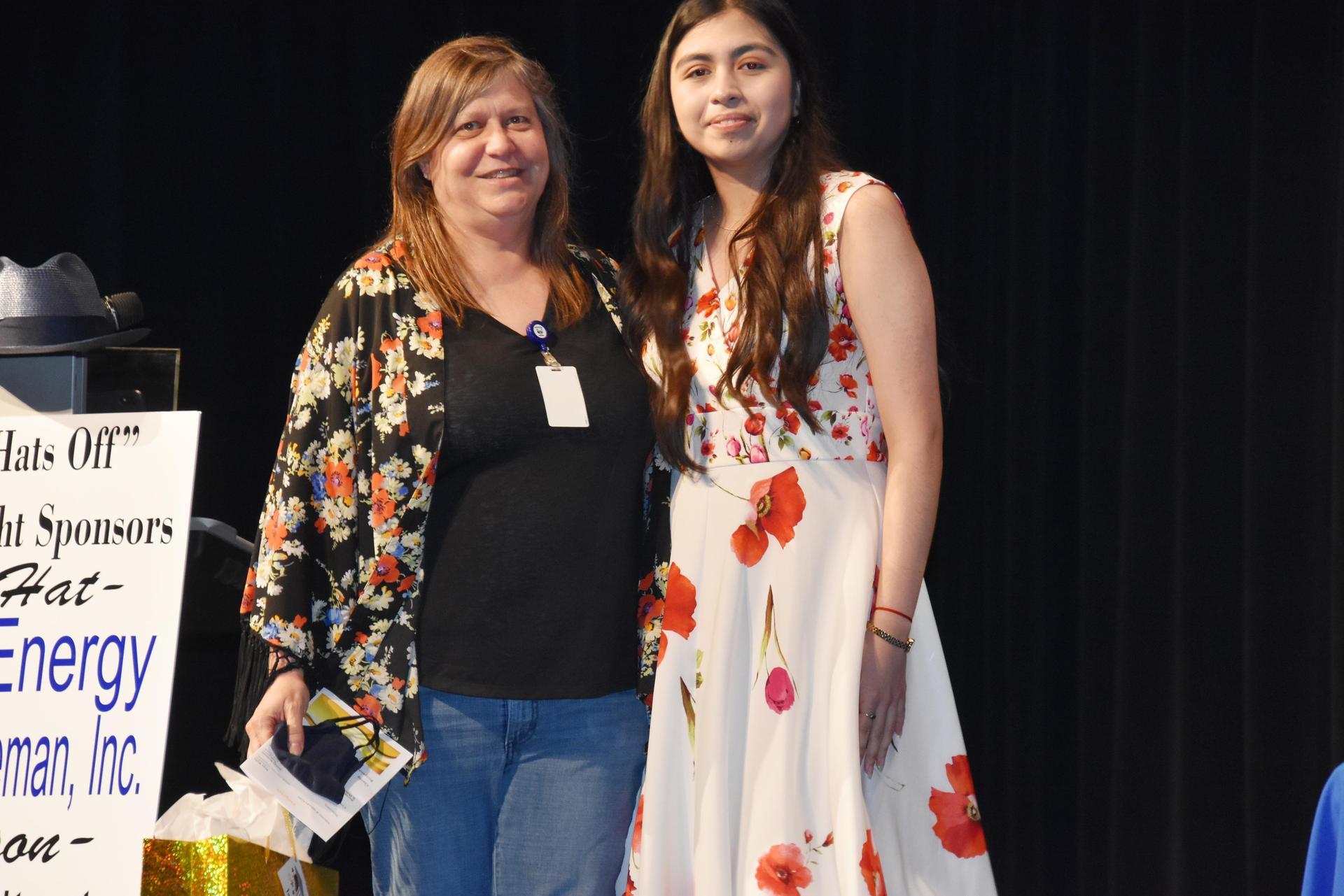 Erika Mendoza and Janet Bass