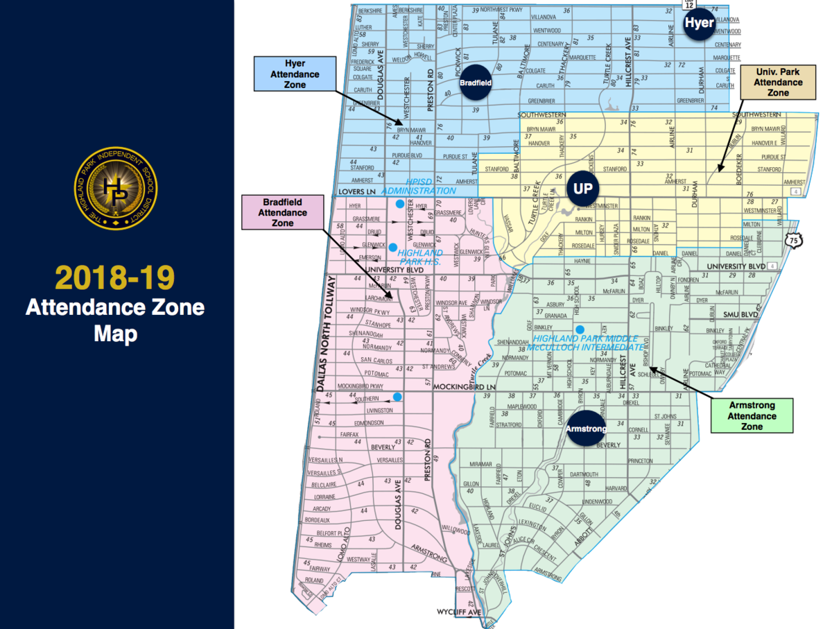 Map Of Texas School Districts.Attendance Zone Maps Hpisd Elementary School Rezoning Process