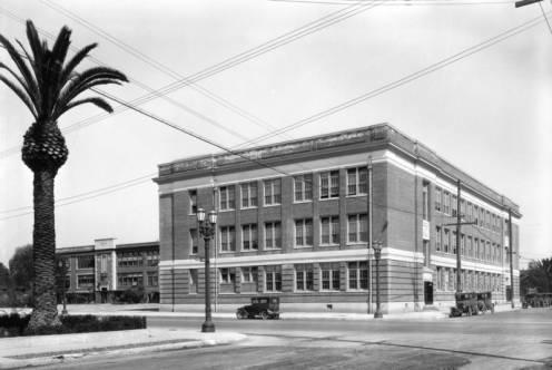 John Adams Middle School: Built in 1923