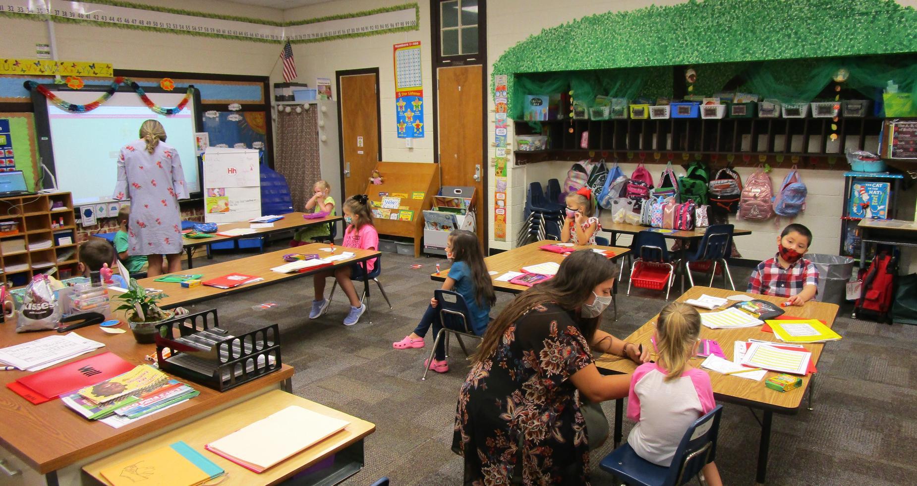 Mrs. Millhorn's kindergarten