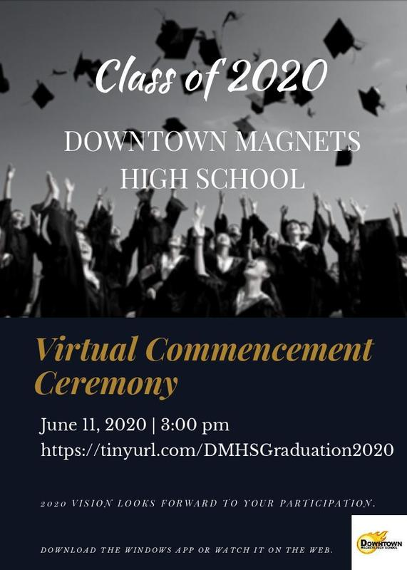 DMHS Class of 2020 Virtual Graduation Featured Photo