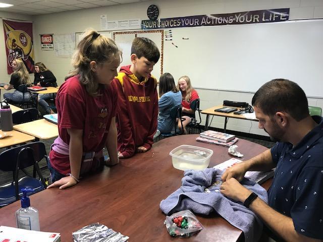 Math students utilize problem-solving skills Thumbnail Image