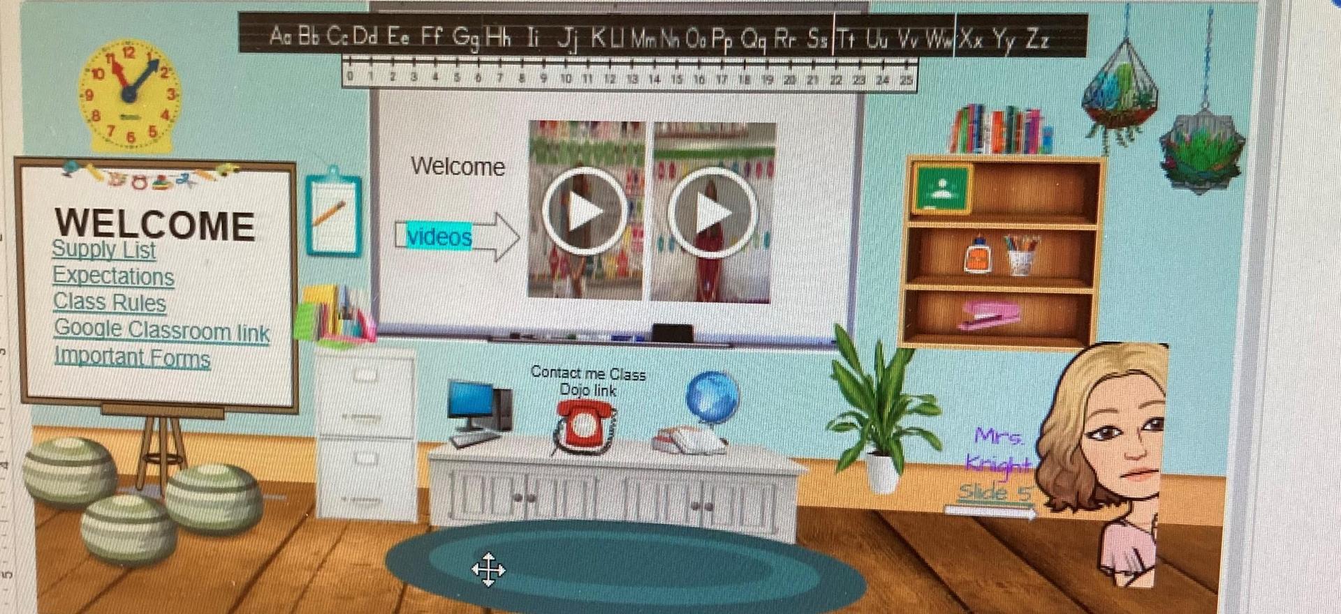 virtual class picture