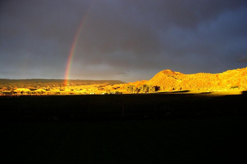 Rainbow over Ten Sleep