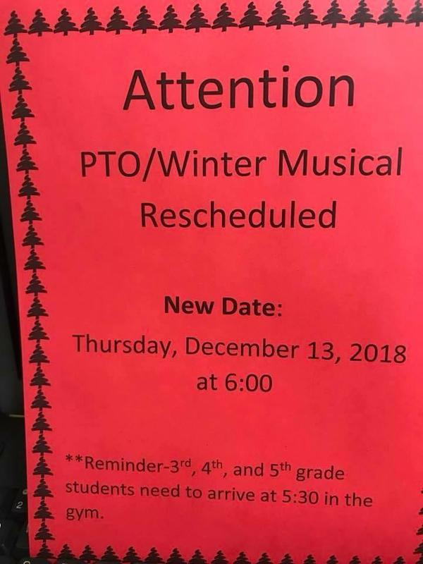 Winter Musical Date Changed Featured Photo