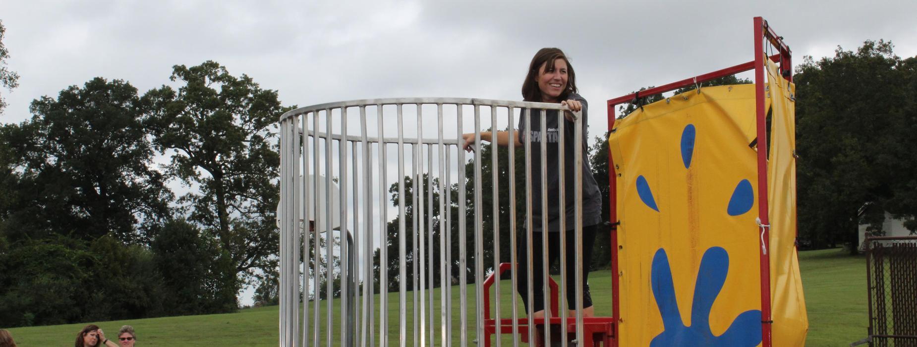 dunking booth principal